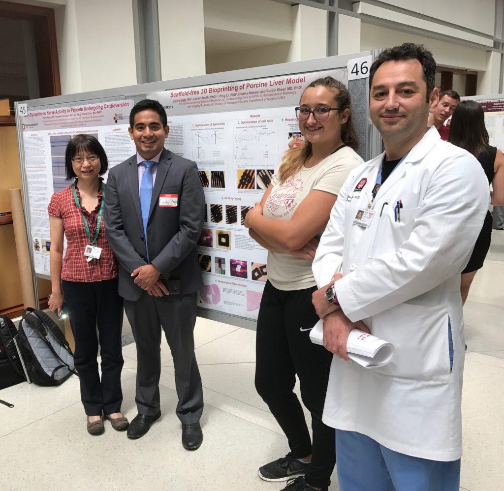 Carlos Vega's research poster